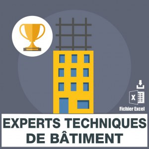 Emails experts techniques de bâtiment