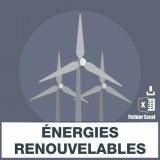 Emails des énergies renouvelables
