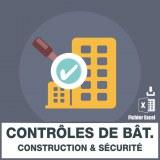 Emails contrôles de batiment (construction, sécurité)