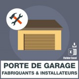 Adresses emails portes de garage