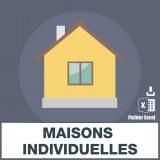 Emails constructeurs maisons individuelles