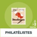 Base adresses e-mails philatélie