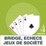 E-mails bridge echecs jeux société