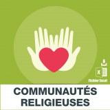 Adresses e-mails communautes religieuses