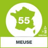 Base adresses emails Meuse