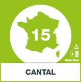 Base adresses e-mails Cantal