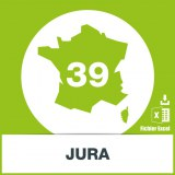 Base adresses e-mails Jura