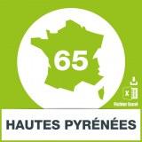 Base adresses e-mails Hautes-Pyrénées