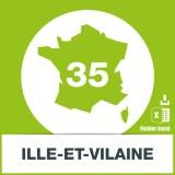 Base adresses emails Ille-et-Vilaine