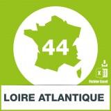 Base adresses emails Loire-Atlantique