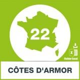 Base adresses e-mails Côtes-d'Armor