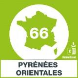 Adresses e-mails Pyrénées-Orientales