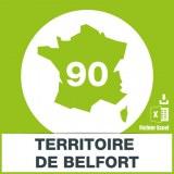 Base adresses e-mails Belfort