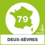 Base adresses e-mails Deux-Sèvres