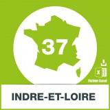 Base adresses emails Indre et Loire