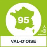 Base adresses e-mails Val d'Oise