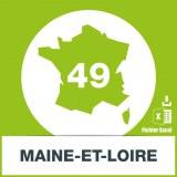 Adresses e-mails Maine-et-Loire