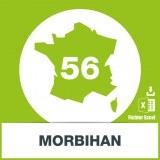 Base adresses e-mails Morbihan