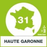 Base adresses emails Haute-Garonne