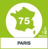 Base des adresses emails de Paris