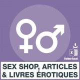 Emails des sex shop