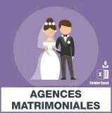 Adresses emails agences matrimoniales