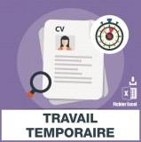 Agences de travail temporaire interim