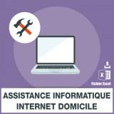 Emails assistance informatique internet domicile