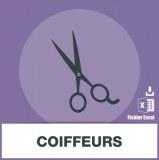 Base d'adresses emails de coiffeurs