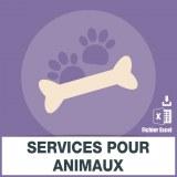 E-mails services pour animaux