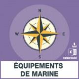Adresses emails equipement marine