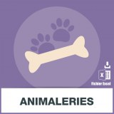 Base d'adresses emails d'animaleries
