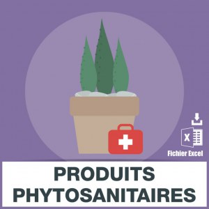 Emails des produits phytosanitaires