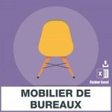E-mails mobilier de bureaux