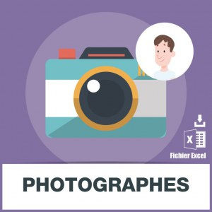 Base d'adresses emails de photographes