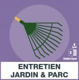 Emails entretien jardins et parcs