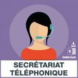 Emails services secrétariat permanence téléphonique