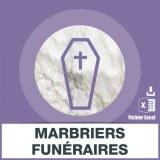 Base d'adresses emails des marbriers funéraires