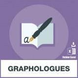 Base adresses e-mails graphologues
