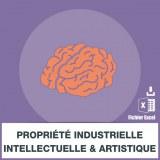 Adresses e-mails propriété industrielle intellectuelle et artistique