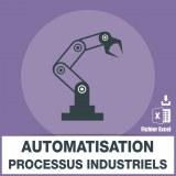 Emails automatisation processus industriels