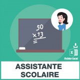 Emails cours particuliers assistance scolaire