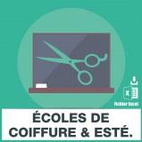 E-mails ecoles coiffure esthetique
