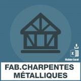 Emails fabricants charpentes métalliques