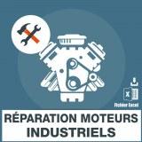 Emails réparation moteurs industriels