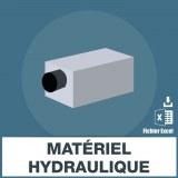 Adresses emails matériel hydraulique