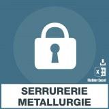 Emails de serrurerie et de metallerie