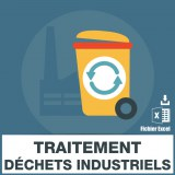 Emails récupération traitement déchets industriels