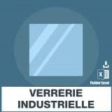 Emails de verrerie industrielle