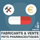 Emails produits de base pharmaceutiques